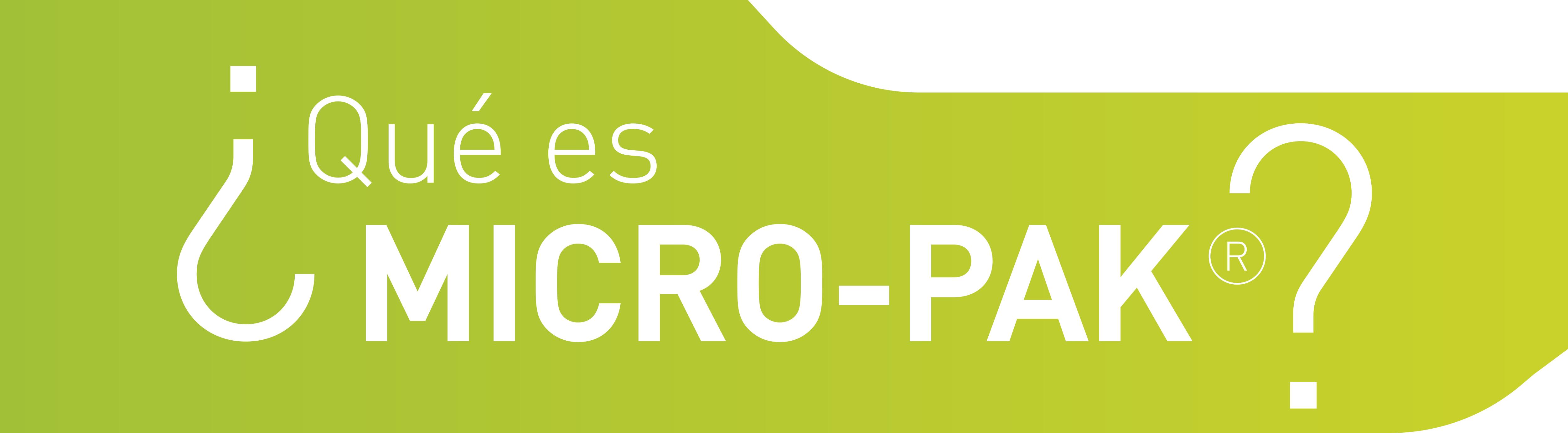MICRO-PAK SOLUCION CONTRA EL MOHO