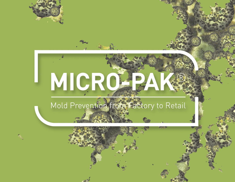 Ponle solución al moho en tus artículos de exportación. MICRO-PAK